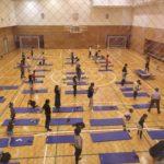 杉並区高円寺体育館にて「子供~大人みんなで筋肉体操」教室を実施!